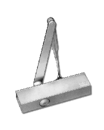 Dorma deurpomp dorma+glijarm zilver