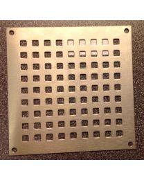 FSB luchtrooster inox 150x150mm