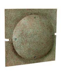 Strassacker buitenlamp wand SENSO middenplaat vierkant brons