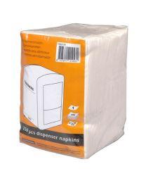 Cabanaz reservepapier/serviettes voor papierdispenser /pak 250 stuks