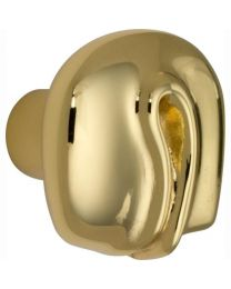 Salice Paolo meubelknop NODO 31mm messing poli gelakt