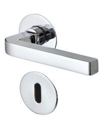 Jado deurkruk CARRE croom R+E flatline rond