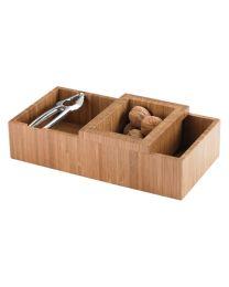 Balvi notenkraker bak hout/bamboehout