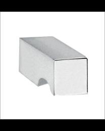 Pombo meubelknop TETRIS vierkant croom 15mm