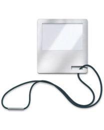 Blomus vergrootglas/bookmark H13xB13cm FIJO inox mat