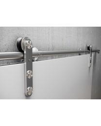 JNF hangrol voor schuifdeurrail houten deuren max 120kg