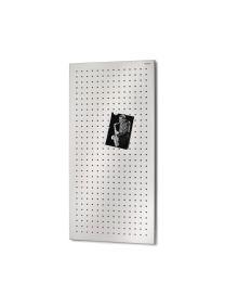 Blomus magneetbord geperforeerd 40x80cm MURO inox mat