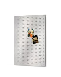 Blomus magneetbord geperforeerd 60x90cm MURO inox mat