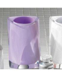 Gedy tandenborstelhouder TWIST lila purper