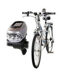 Balvi fietslicht zon+dynamo 8,5x4,3x8cm