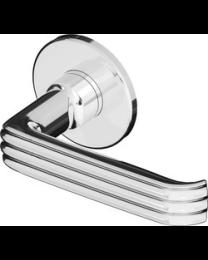 Bonomi GBT deurkruk FLUTED LINE nikkel poli +rozet 50/5mm