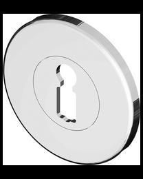 Bonomi GBT sleutelplaat FLUTED LINE BB nikkel poli Ø50mm 5mm
