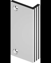 Bonomi GBT opleggreep FLUTED LINE nikkel poli 75mm