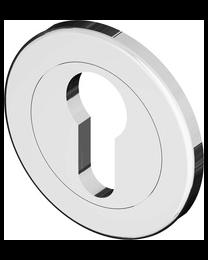Bonomi GBT sleutelplaat FLUTED LINE PZ nikkel poli Ø50mm 5mm