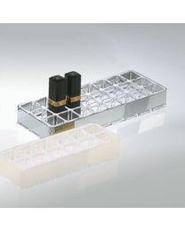 Decor Walther lippenstift box 3x23x9cm acryl+croom