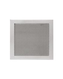 JNF luchtrooster 150x150mm zonder schroefgaten inox mat