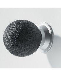 Confalonieri meubelknop voet bol rubber Ø25mm zwart
