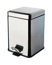 Colombo Bathware vuilbak 3l BLACK & WHITE croom