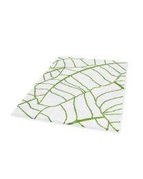 Kleine Wolke badmat/tapijt 60x100cm KINGSTON sneeuwwit groen