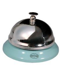 Cabanaz tafelbel/receptiebel/hotelbel licht blauw