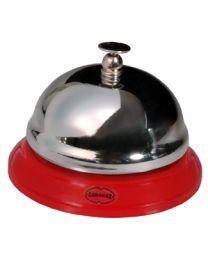 Cabanaz tafelbel/receptiebel/hotelbel rood