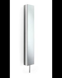 Linea Beta spiegelkast draaibaar 6 legsels H183xB25xD26,5cm inox poli