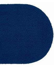 Batex wcdekselmat DUO-FLOR 47x51cm donkerblauw/marineblauw