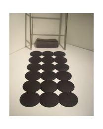 RI.DA.P. antislipbadmat GIOTTO 40x80cm zwart