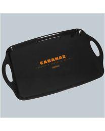 Cabanaz schaal CABANAZ L48xB31cm zwart