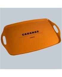 Cabanaz schaal CABANAZ L48xB31cm oranje