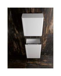 Hewi dispenser voor papieren handdoeken B300xH360xD135mm wit