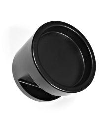 DnD deurknop TIMELESS sleutelplaat BB zwart mat
