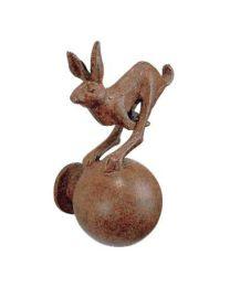 Strassacker deurbol HAAS springend bruin brons