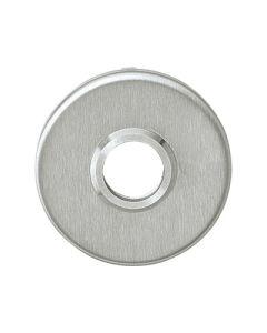 Intersteel rozet rond Ø50x4mm plat verdekt inox mat