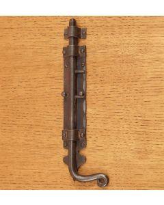 Utensil staartgrendel 45x300mm smeedstaal roest