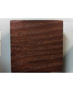 Locomoson meubelknop vierkant 90x90mm hout palisander