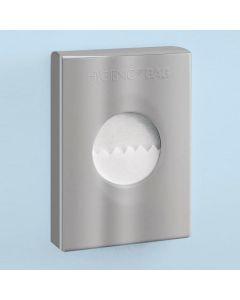 Gedy houder voor hygienezakjes 9,8x3,8x13,8cm croom