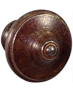 Wallebroek meubelknop FANTICO ijzer roest 34mm