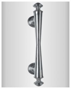 Quincalux voordeurgreep recht 322/21 L=370mm as=210mm QBrital
