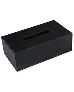 Colombo Bathware tissuedispenser zwart 25x14x6cm - BLACK & WHITE