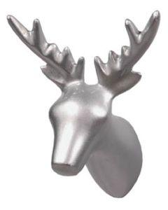 Puhlmann kapstok DEAR DEER zilver-kleur 4x6x7cm