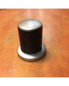FSB deurknop vast DIETER RAMS alu+zwart