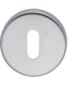 Fusital sleutelplaat inox mat BB