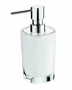 Guzzini zeepdispenser wit/croom
