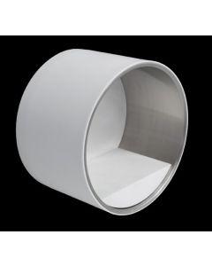 Ri Fra tablet klein recipient CIRCLE 20cm Øcorian inox mat