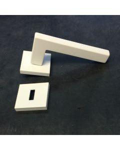 Quincalux deurkruk 704 naakt wit mat