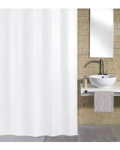 Kleine Wolke douchegordijn KITO wit 120x200cm textiel 100% polyester