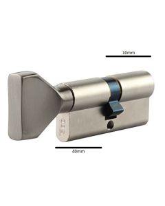 Iseo knopcylinder F5 half 10/40mm