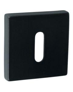 Artitec sleutelplaat BB MANHATTAN vierkant 52x52mm mat zwart