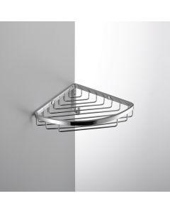 Colombo Bathware hoekrek enkel 180x180xH80mm COMPLEMENTI croom